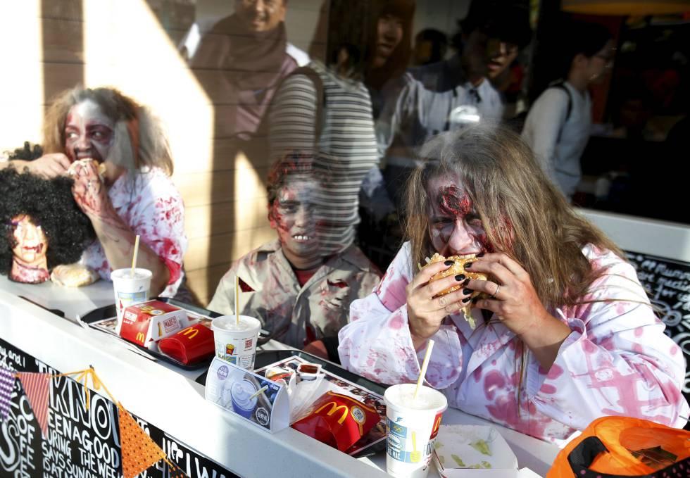 Así se come en Halloween alrededor del mundo