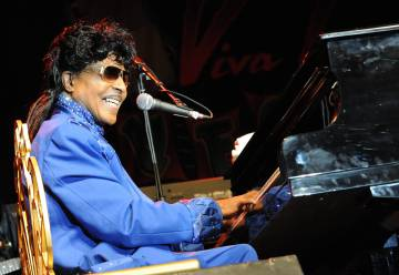 Little Richard al piano durante una actuación en Casino The Orleans de Las Vegas, en marzo de 2013.