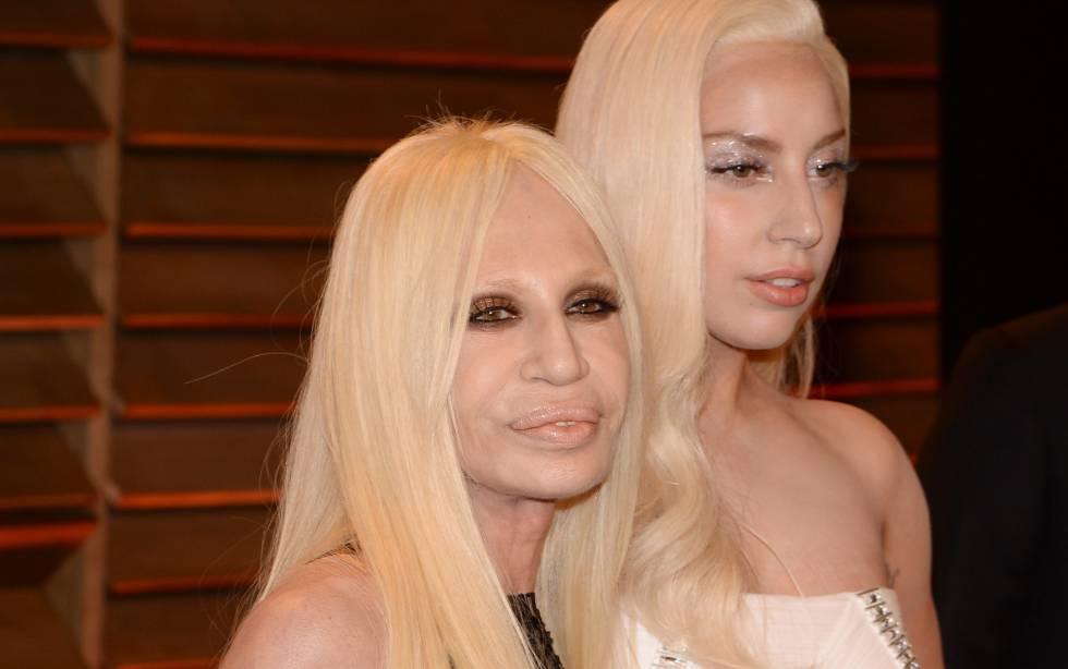 American Crime History   Lady Gaga será Donatella Versace   Estilo ... c37a6e219cee