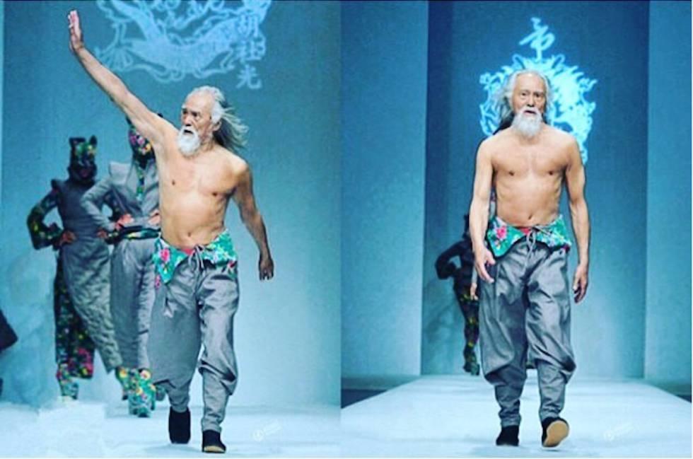 Este Hombre Tiene 80 Años Desfila De Modelo Y Atesora Un Mensaje