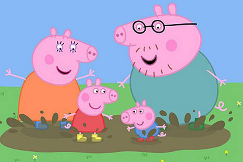 Peppa pig da el salto a la gran pantalla mam s y pap s - Peppa cochon a la plage ...