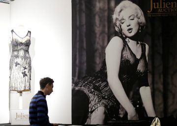 La mayor subasta de objetos de Marilyn Monroe