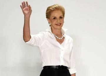 d1a95a6bf82325 Dicursos sobre la feminidad · Carolina Herrera, 35 años de aristocrática  belleza