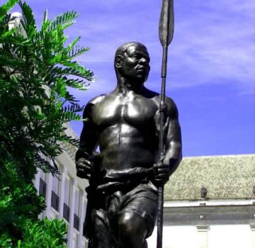 Estatua de Zumbi en Sao Paulo Panoramio