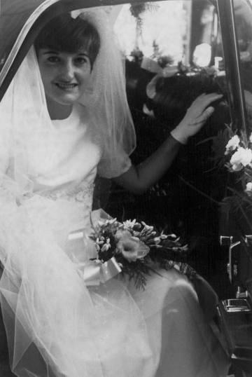 Meryl Velasco en su boda