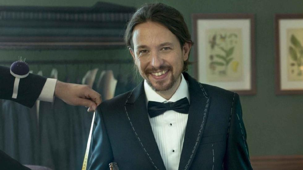 Pablo Iglesias posa con esmoquin para  Vanity Fair   aca78da6bbd
