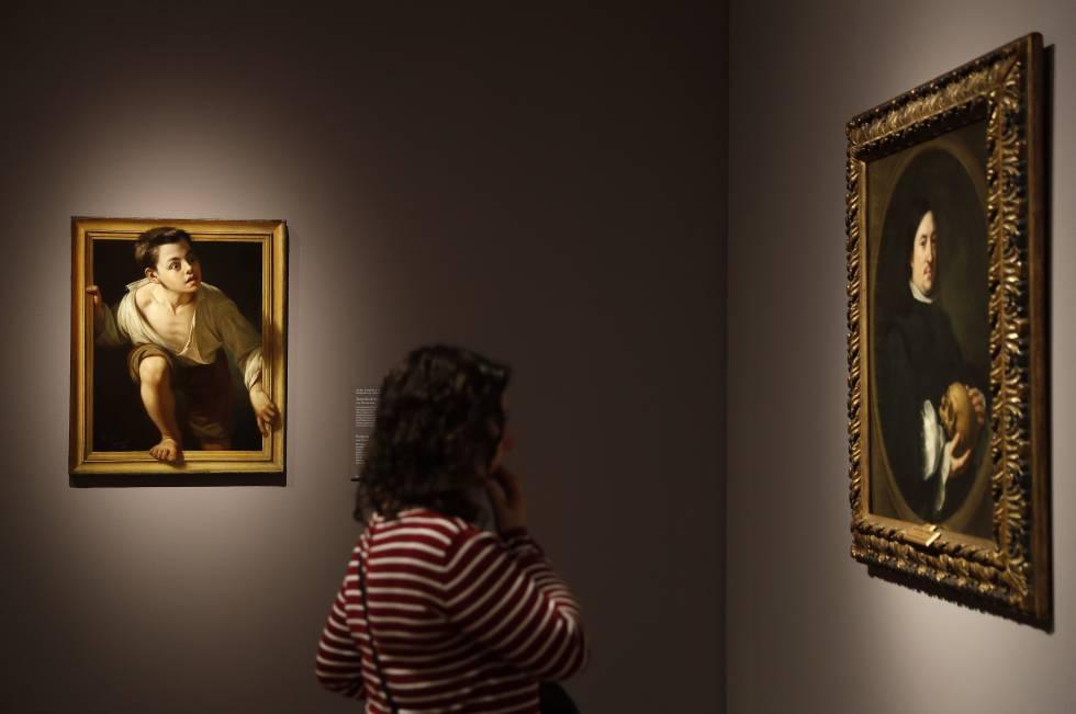 """Exposicion """"Metapintura"""" en el Museo del Pradorn rn"""