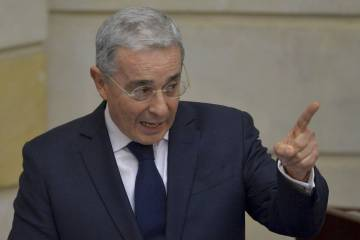 Former president Alvaro Uribe is the leading opponent of the peace deal with FARC.