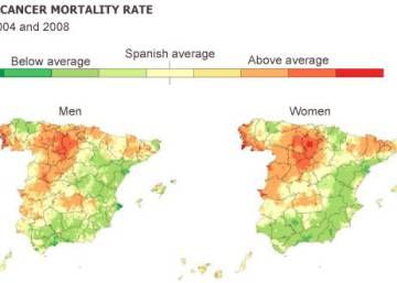Spain's cancer map: how patients' regions affect survival