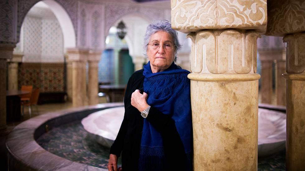 Wassyla Tamzali, en la Fundación Tres Culturas de Sevilla.