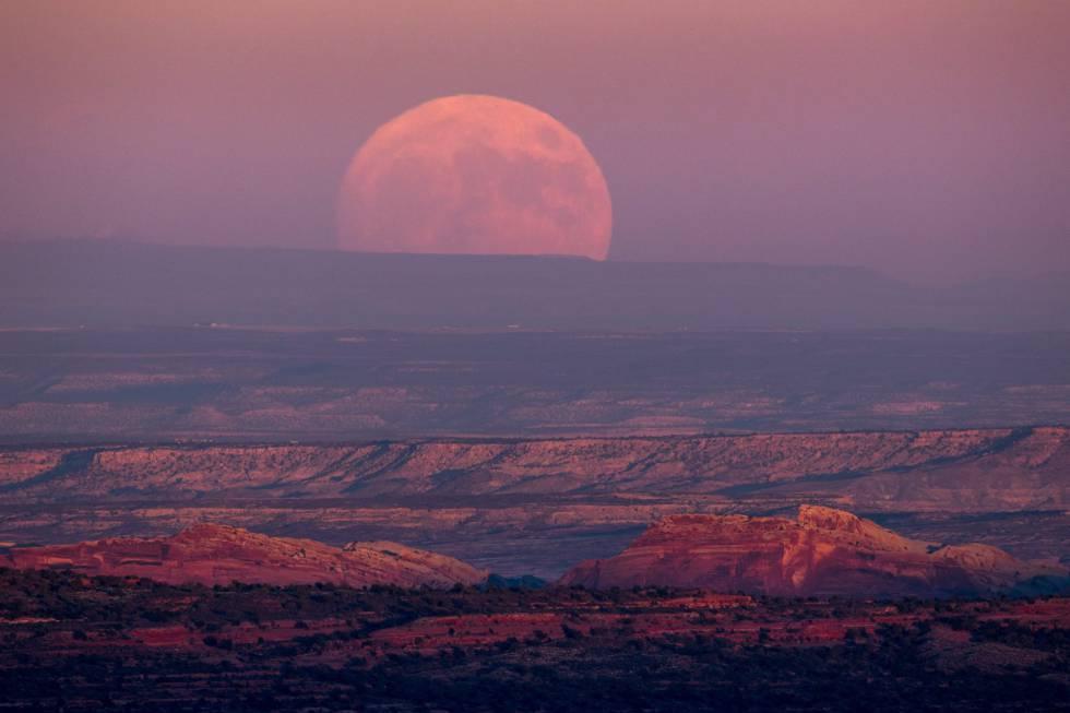 Resultado de imagen de super luna diciembre 2017