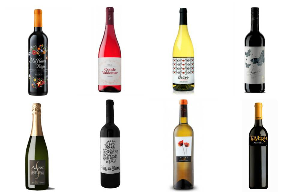 20 buenos vinos por menos de 5 euros para triunfar en Navidad