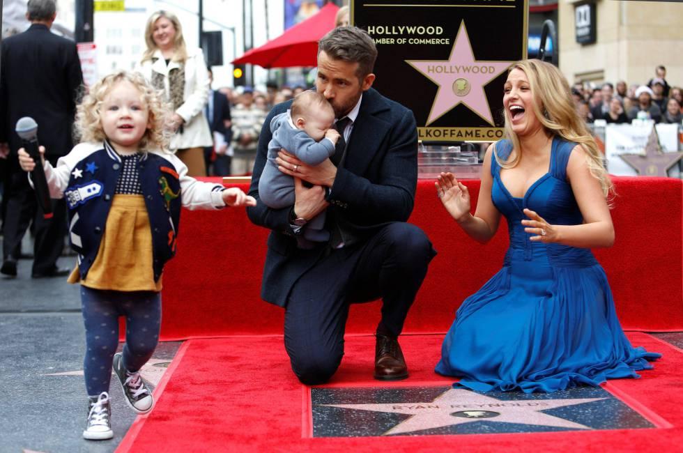 Blake Lively Las Hijas De Ryan Reynolds Dejan De Ser