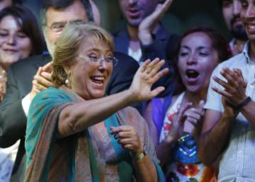 Chileans give Bachelet a second term as president