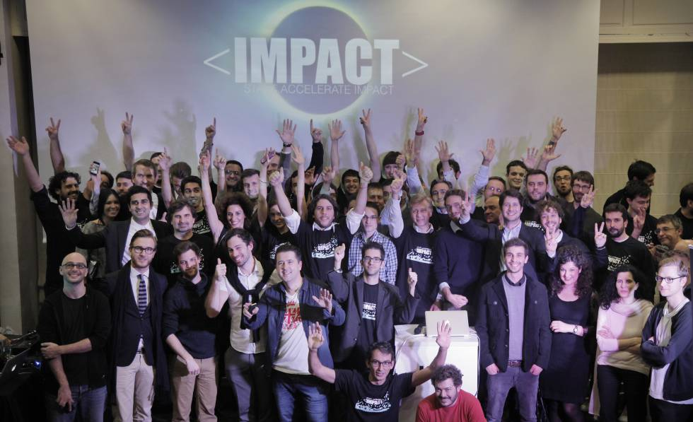 La comunidad de la aceleradora Impact.