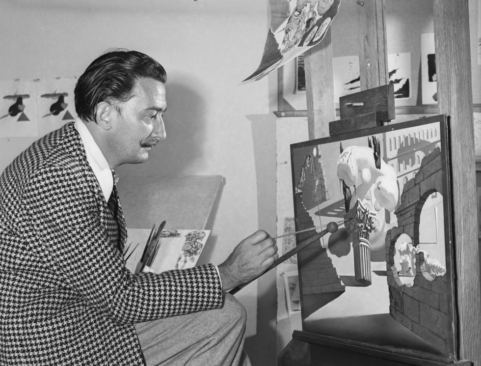 El párkinson de Dalí aparece en sus cuadros 20 años antes del ...