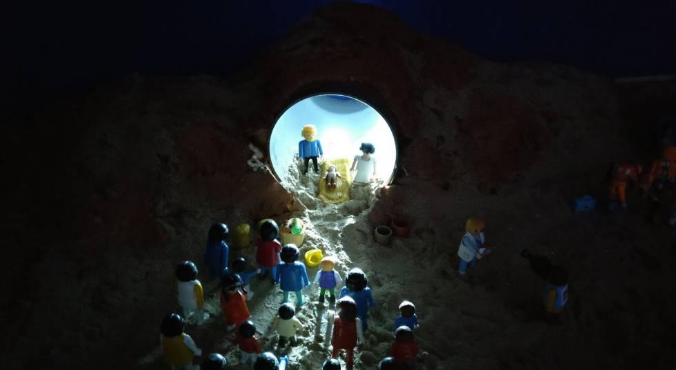 El niño Jesús nace en la frontera de México | Blog Migrados | EL PAÍS