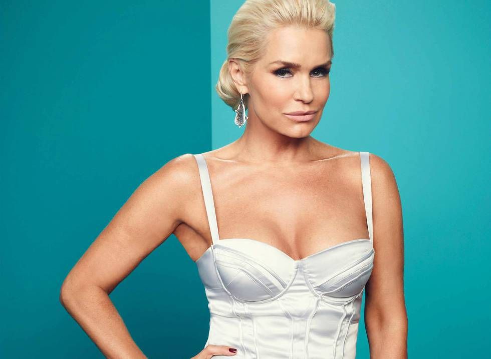 Así luce Yolanda Hadid en el 'reality 'The Real Housewife of Beverly Hills'.
