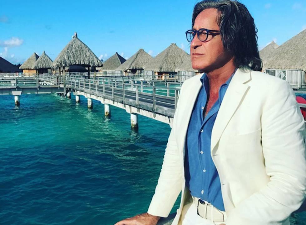 El patriarca del clan, Mohamed Hadid, promotor inmobiliario de hoteles y residencias de lujo.
