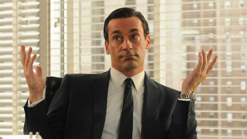 "Fotograma de la serie ""Mad men"""