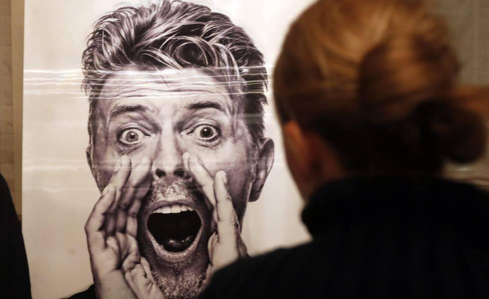 Una imagen de David Bowie, del que se cumple un año de su muerte.