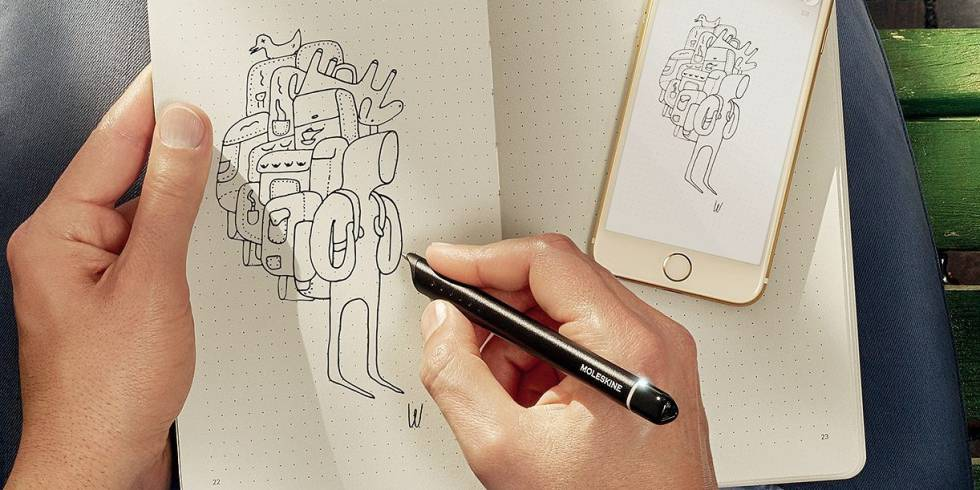 Smart Writing Set, de Moleskine.