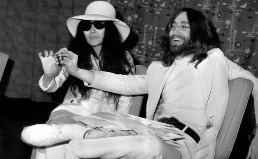 La historia de amor de John Lennon y Yoko Ono, al cine   Estilo   EL PAÍS
