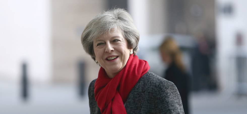 Theresa May, primeira-ministra do Reino Unido
