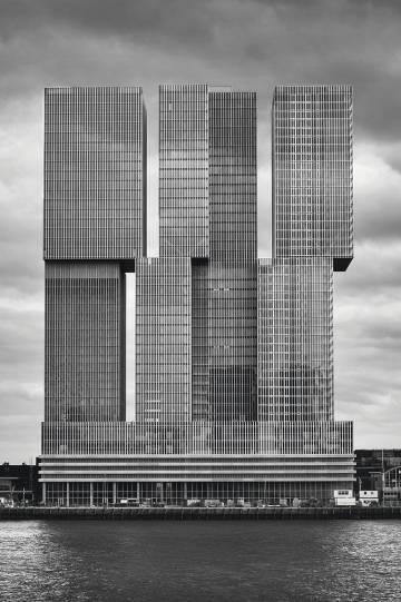 La de Rotterdam, Países Bajos, (OMA, 2013)