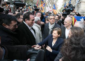 "In court, Catalan official defends right to ""debate independence"""