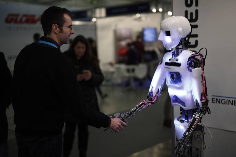 Imagen Exposición de robotsrn rn