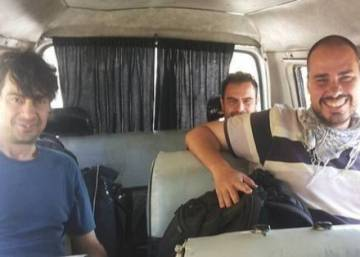 Three Spanish journalists kidnapped 10 months ago in Syria freed