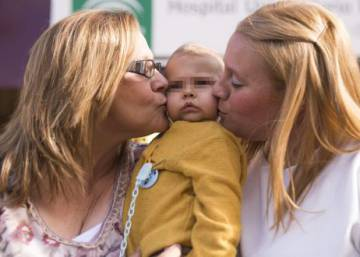 Spanish woman donates part of her liver to save baby grandson's life