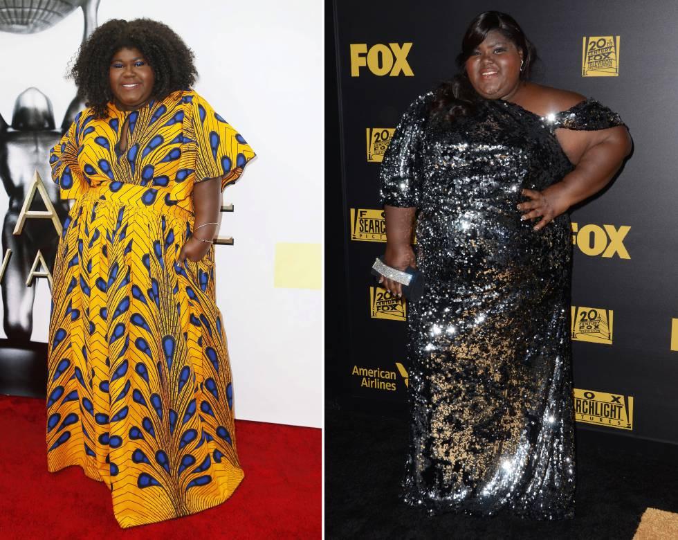actrices antes y despues de bajar de peso