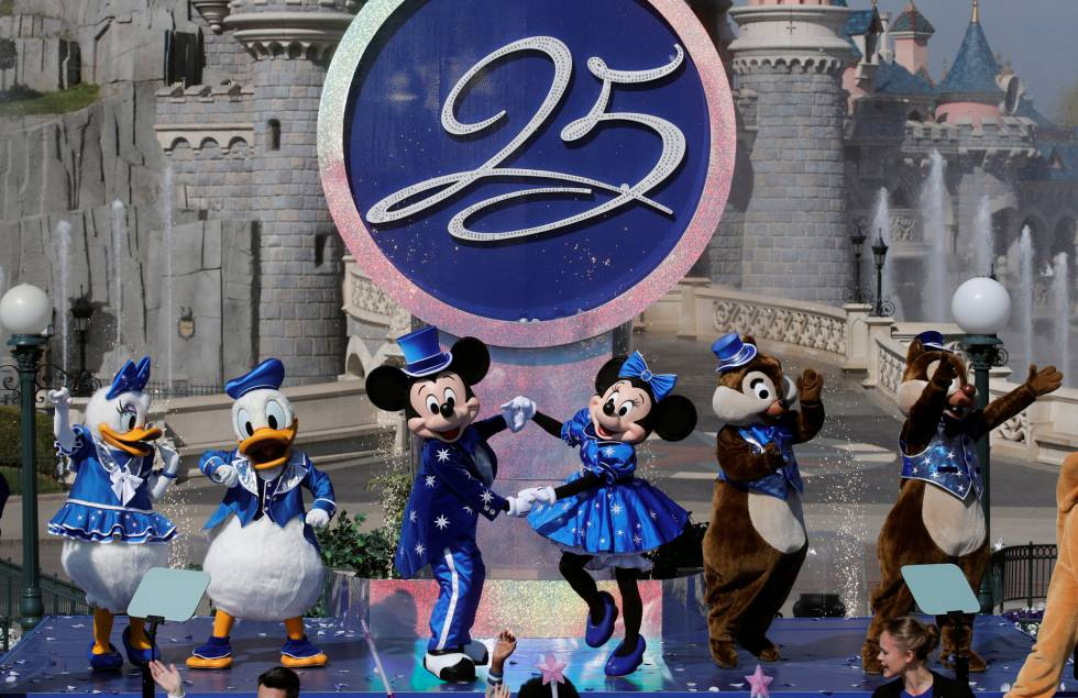 25º aniversario  Guía práctica para ir a Disneyland París con niños ... a0b1bbbda50b0