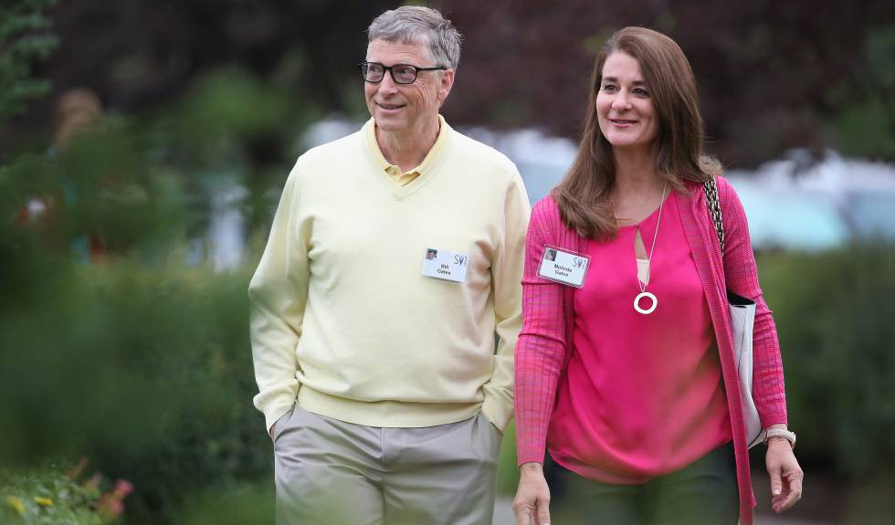Bill e Melinda Gates, em Sun Valley