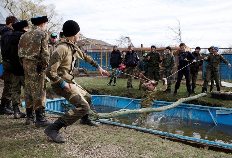 Ejercicios fisicos de entrenamiento militar