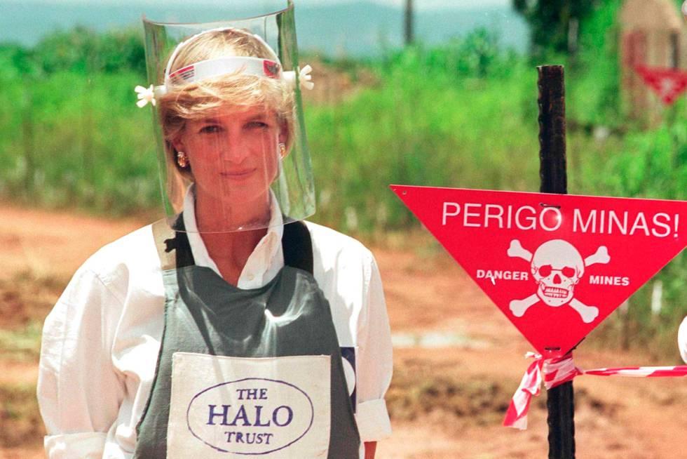 Resultado de imagen para princesa diana minas antipersona