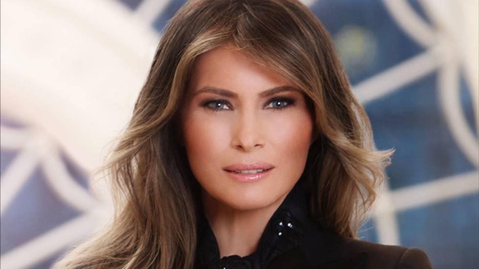 Imagen de la primera dama Melania Trump.