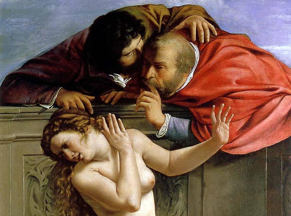 'Susana y los Viejos', de Artemisia Gentileschi.