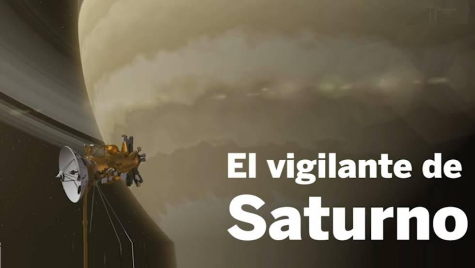 La sonda Cassini se aproxima a su 'Gran Final' en Saturno