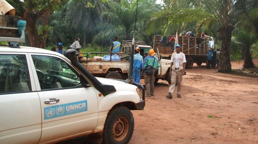 Repatriación de refugiados sursudaneses en la República Centroafricana.