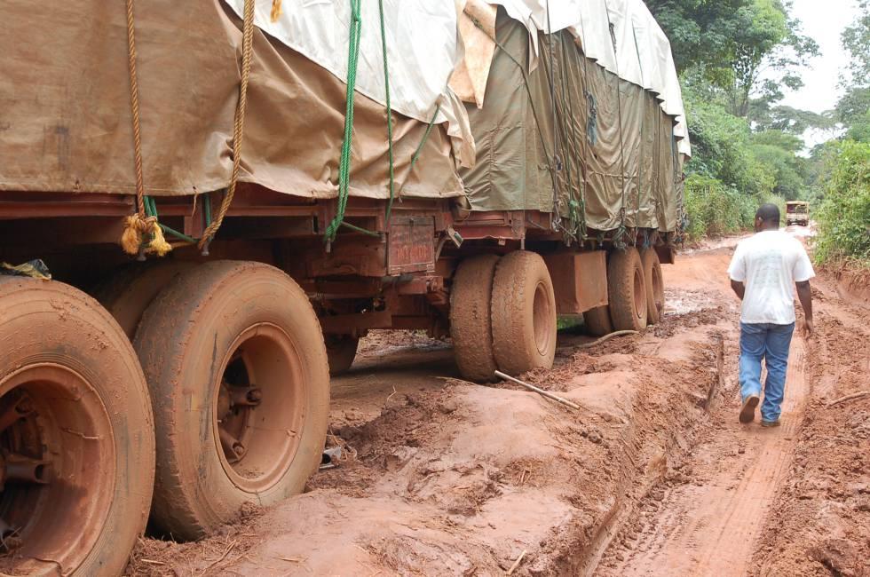 Carretera de la República Centroafricana.