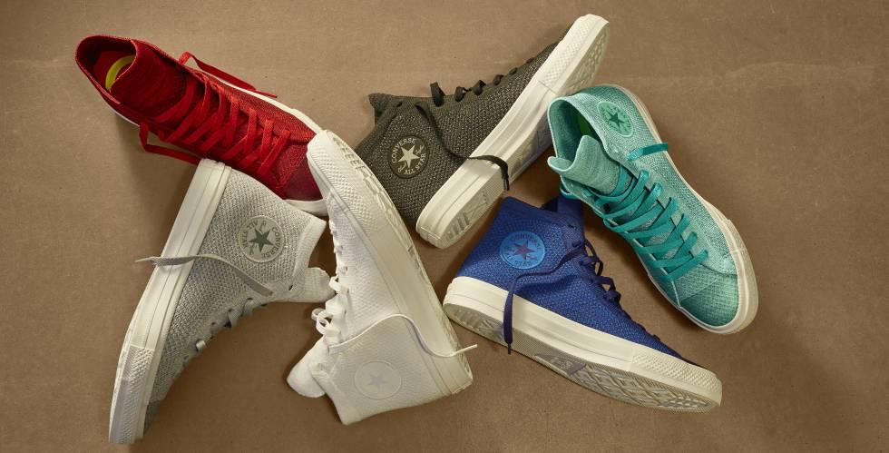 Nueva colección Chuck Taylor All Star x Nike Flyknit. Por primera vez unas  zapatillas Converse 8a647a50041eb