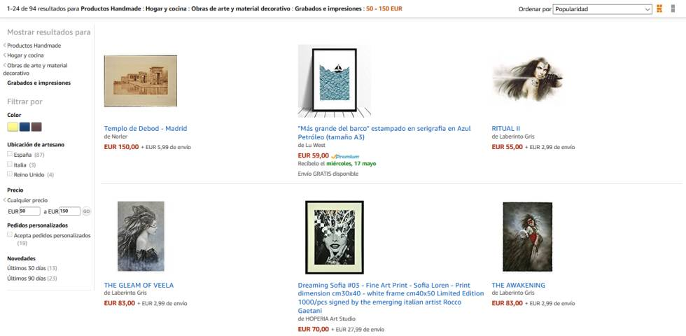 4275cfbc693cb Página de compra de productos  handmade  en ...