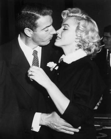 DiMaggio y Monroe, en 1954 en San Francisco.