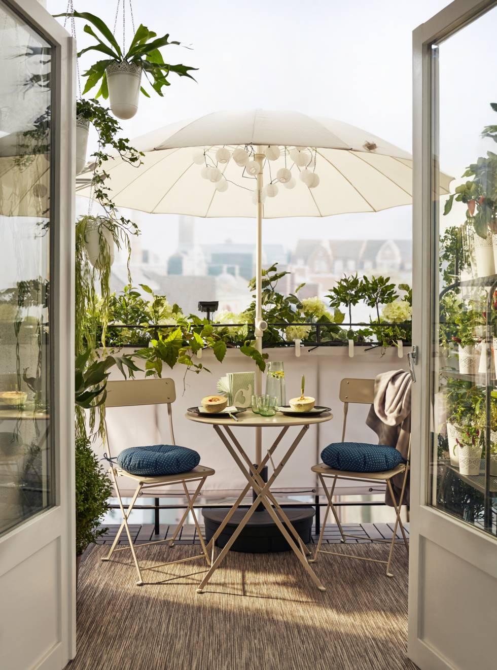 No hay terraza peque a hay poca imaginaci n icon el pa s for Mobiliario para terrazas pequenas