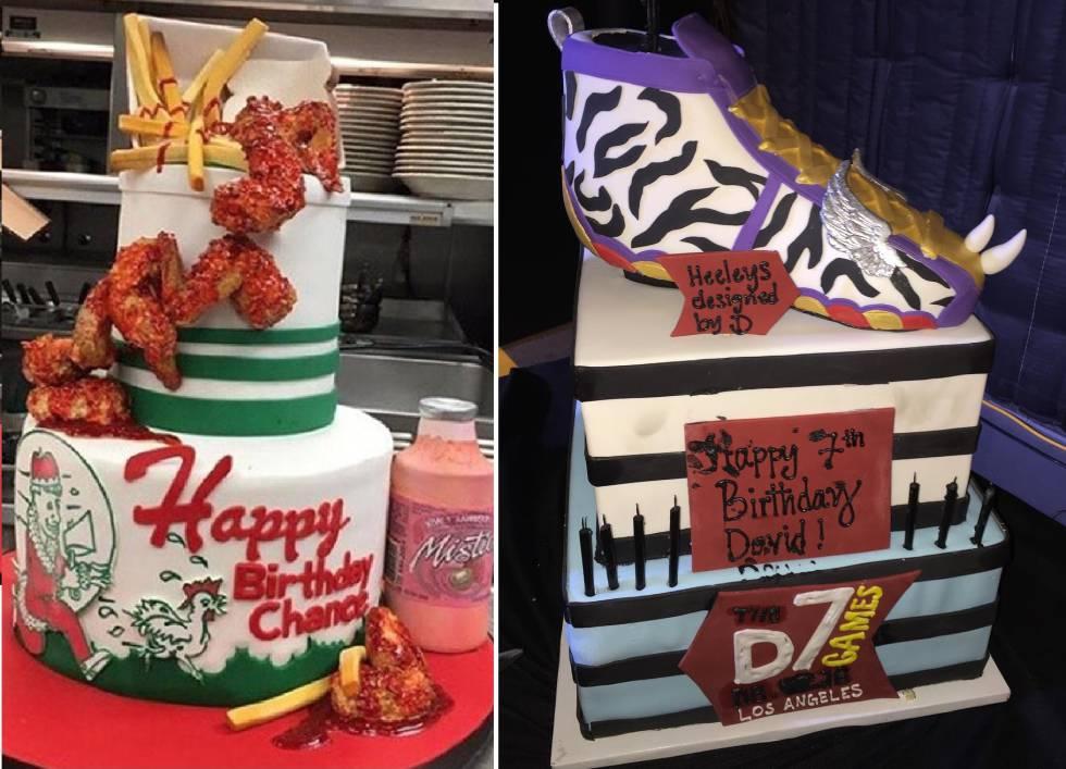 ecca0f772 Fotos  Las increíbles tartas de cumpleaños de los famosos