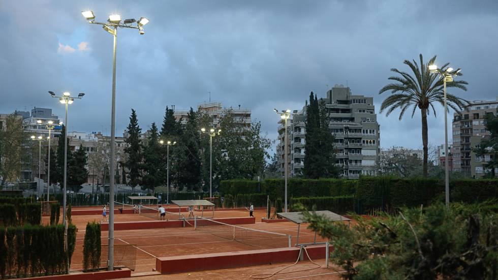 The Mallorca tennis club where Cursach's career was nurtured.