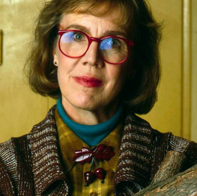 Log Lady, en una escena de 'Twin Peaks'.